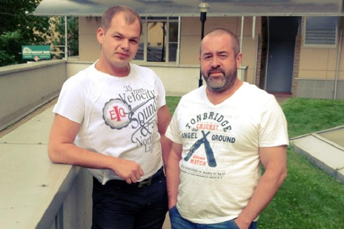 Алексей Брянцев и Алексей Брянцев-старший