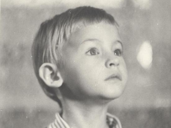 Роман Черницын в детстве