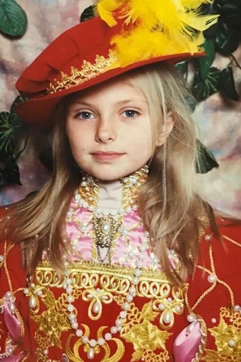 Ольга Паршина в детстве фото