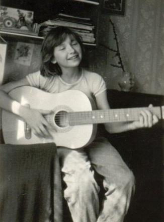 Диана Арбенина в детские годы