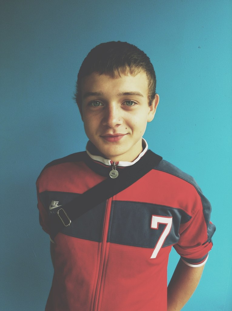 Роман Крылов в детские годы