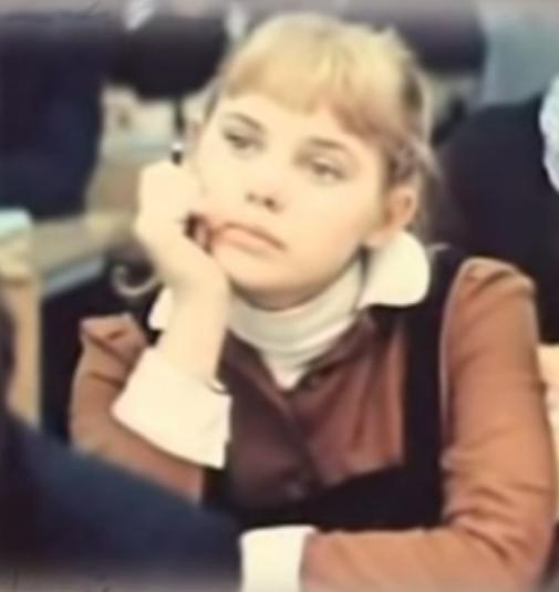 Татьяна Кравченко в детстве