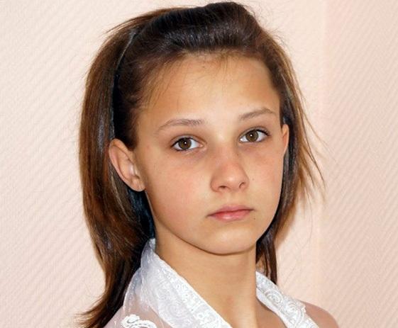 Катя Денисова в детстве