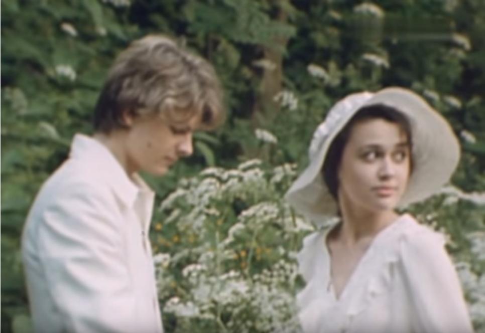 1991 год. Кадр из фильма Машенька