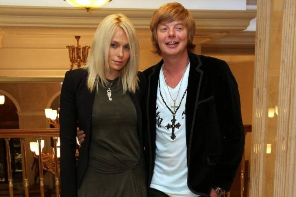 Марина Григорьева-Апполонова (Банкова) с мужем