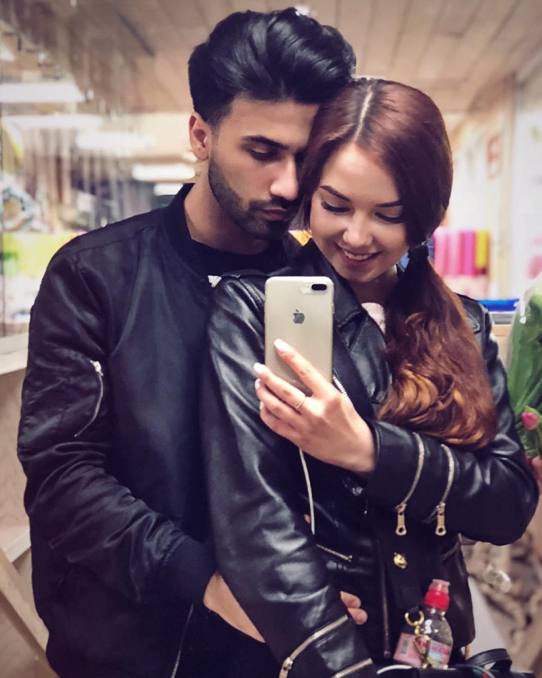 CANARY (Аня Нарыкова) с мужем