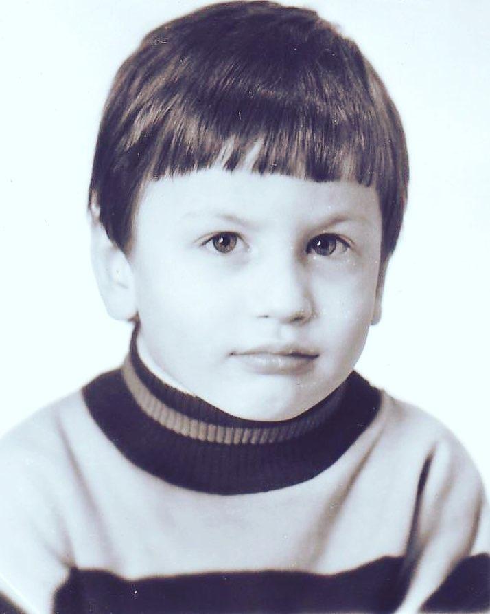 Павел Островский в детстве