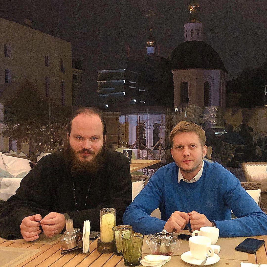 Павел Островский и Борис Корчевников