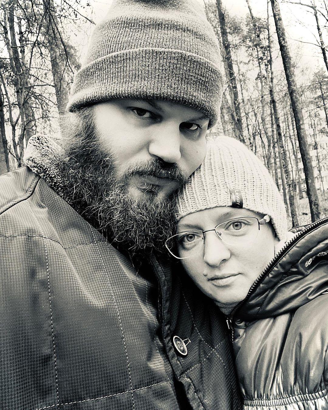 Павел Островский с супругой