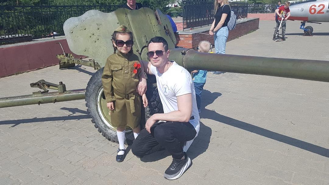 Денис Ковальский с дочерью