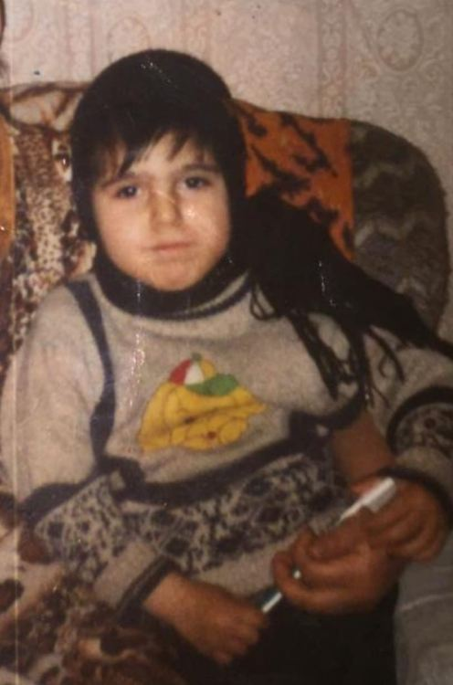 Тимур Акперов в детстве