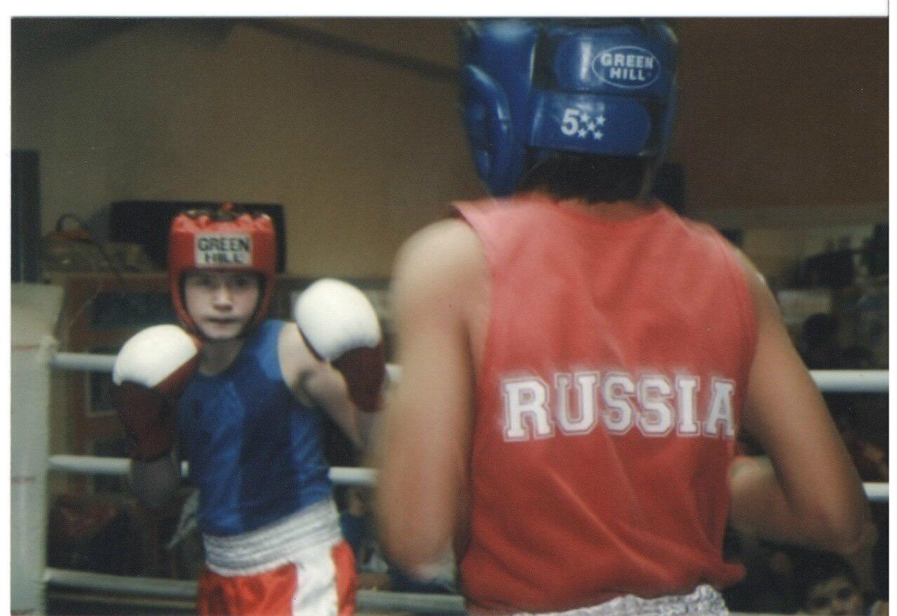 Владимир Мышев в детстве