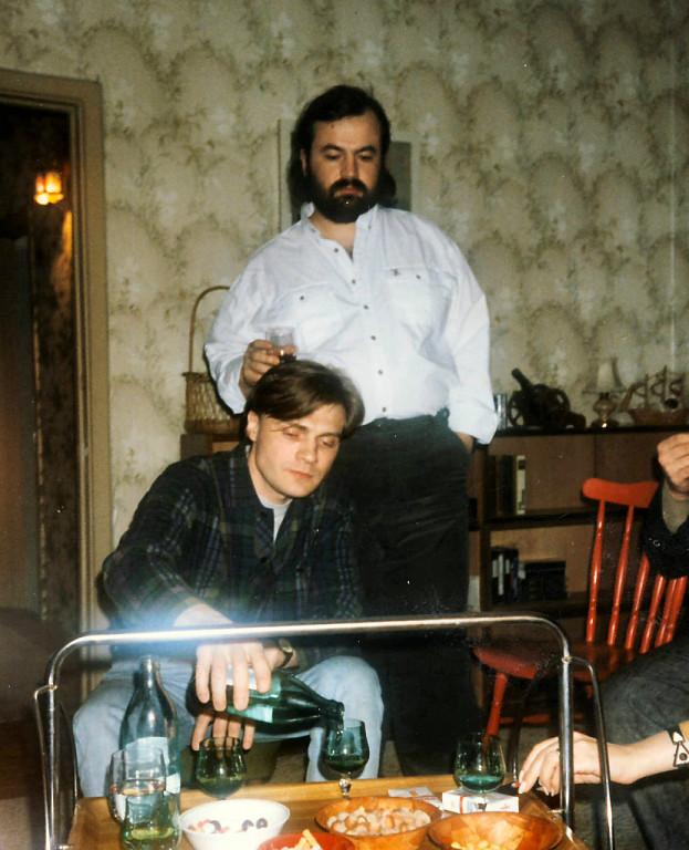 1987 год. Олег Парастаев и Игорь Замараев