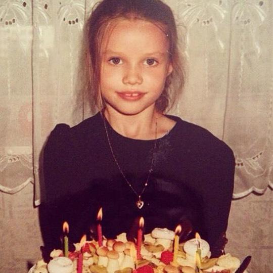 Анастасия Кривошеева в детстве