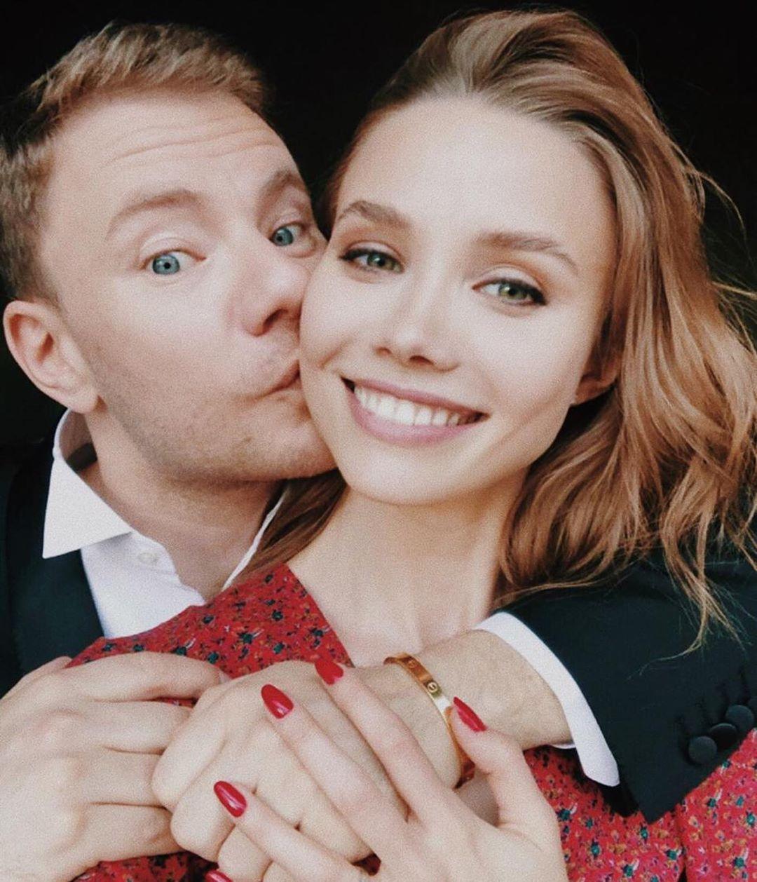 Анастасия Кривошеева с супругом