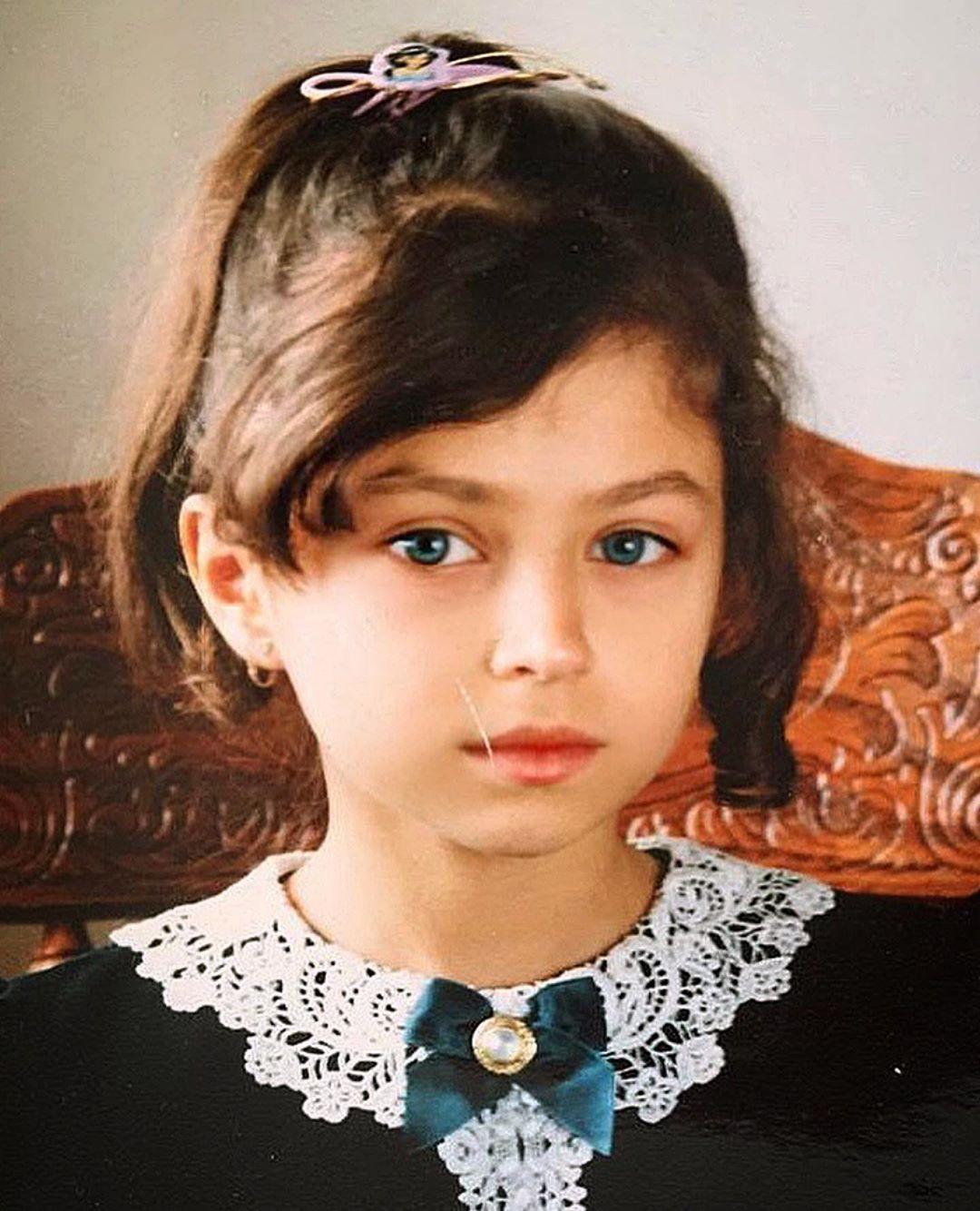 Александра Гаевская в детстве