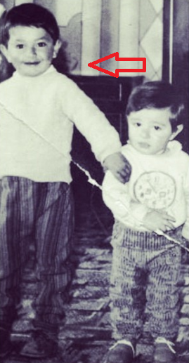 Аркадий Думикян в детстве