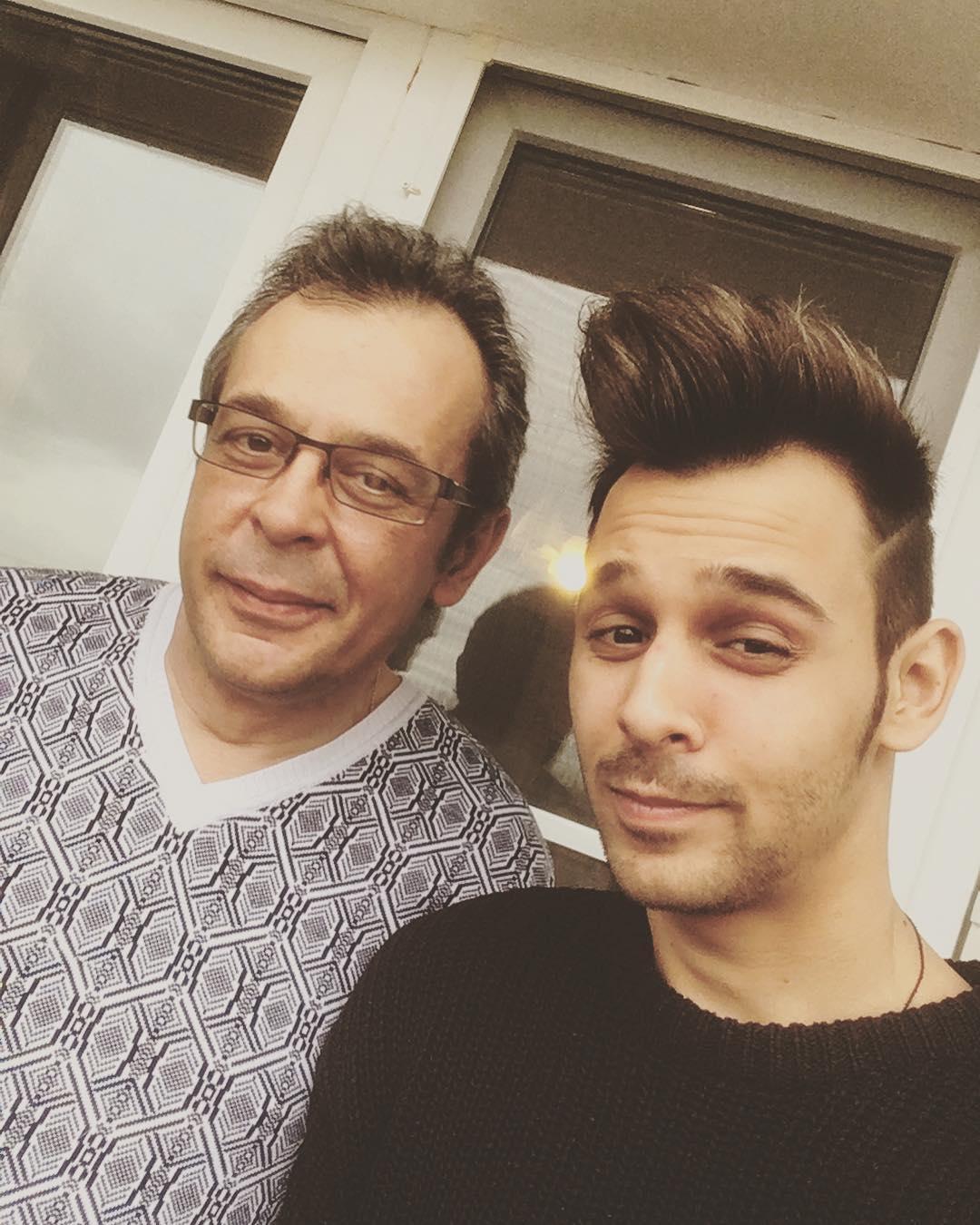 Никита Сударь с отцом