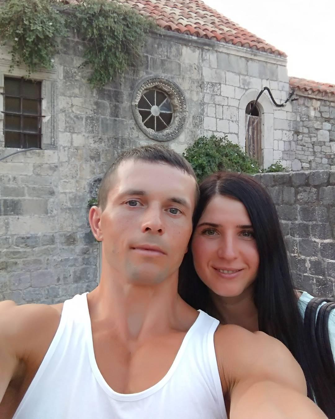 Алексей Клакоцкий с женой