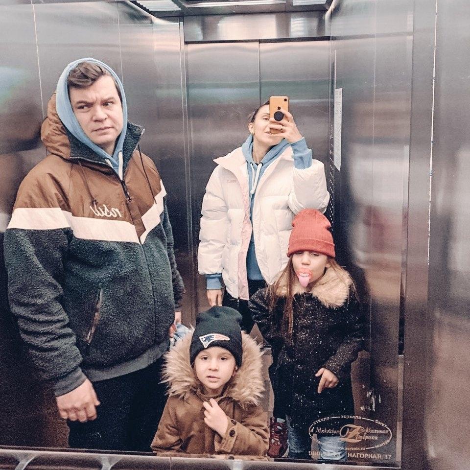 Ольга Качанова семья