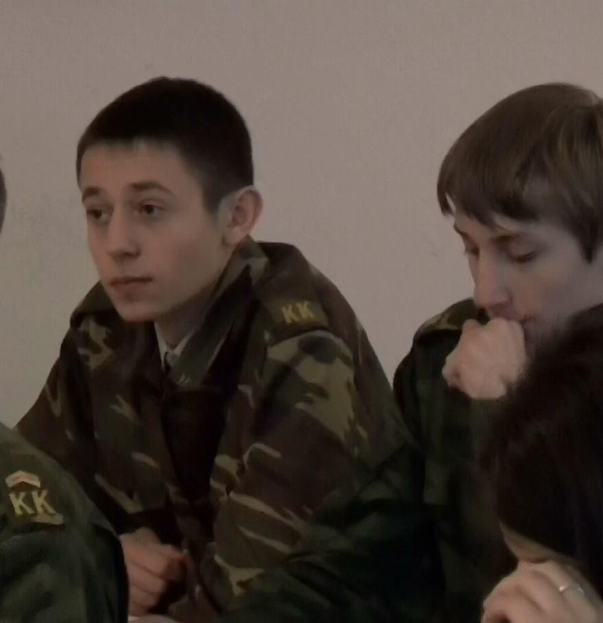 Виктор Головин (BRIG man) в юности