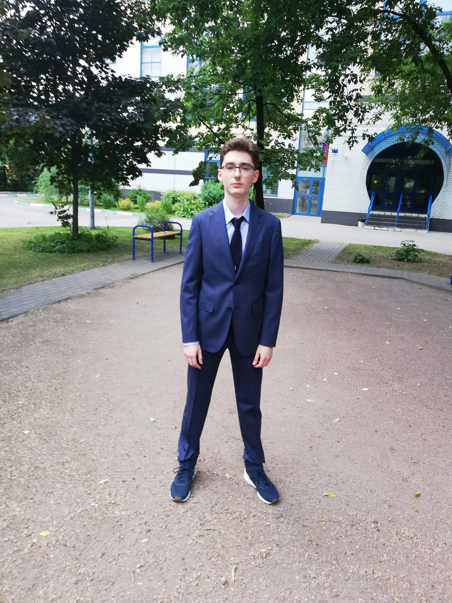 Дмитрий Евстафьев его сын